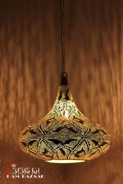 Arabische hanglamp short Hat Koper