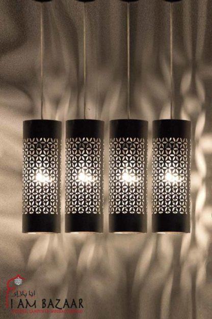 Egyptische lamp Salinderset van 4