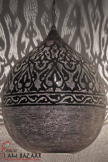 Eettafel hanglamp zilver (XXXL)